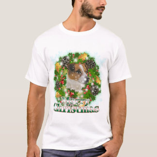 Merry Christmas Jack Russell T-Shirt