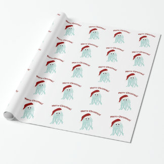 Merry Christmas! Jellyfish Wrapping Paper