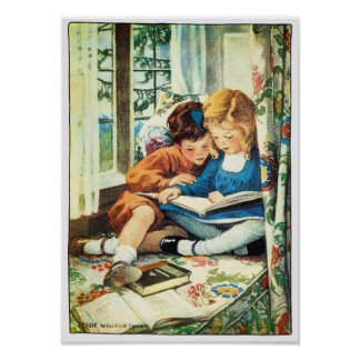 Merry Christmas Jessica Willcox Smith Illustration Poster