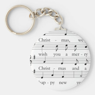 Merry Christmas key supporter Key Ring