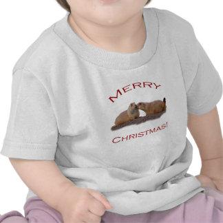 Merry Christmas Kiss T-shirts