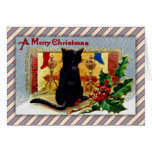 Merry Christmas Kitty Greeting Card