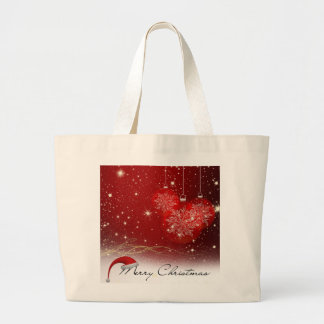 Merry Christmas Large Tote Bag