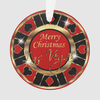 Merry Christmas Las Vegas Ornament