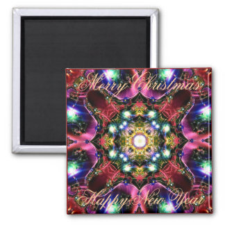 Merry Christmas Lights 10 Gift Magnet