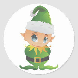 Merry Christmas Lil  Angel Sticker