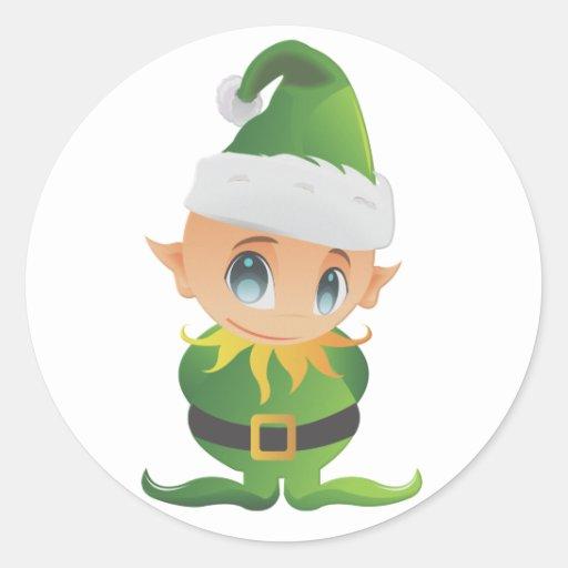 Merry Christmas Lil  Angel Sticker
