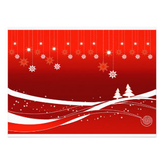 Merry Christmas lovely gifts Custom Announcements