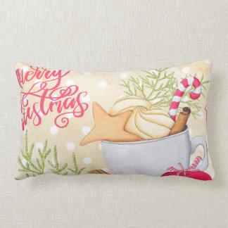 Merry Christmas Lumbar Cushion