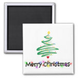 Merry Christmas Magnets