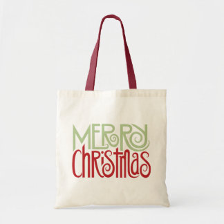 Merry Christmas margarita green Tote Bag