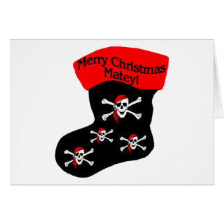 Merry Christmas Matey Cards