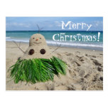 Merry Christmas/ Mele Kalikimaka Snowman Sandman