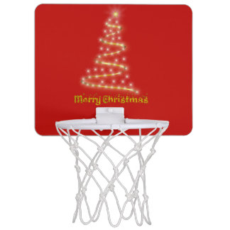 Merry Christmas Mini Basketball Hoop