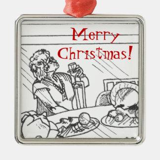 Merry Christmas Mom Christmas Ornament