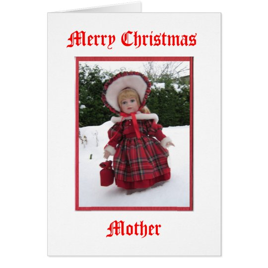 Merry Christmas Mother Card