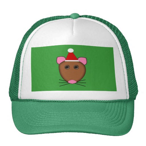 Merry Christmas Mouse Hat