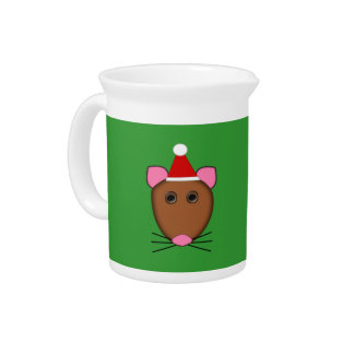 Merry Christmas Mouse Pitcher