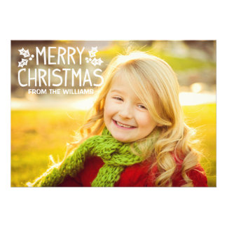 Merry Christmas Multi-Photo Holiday Card