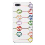 Merry Christmas Multicolored Glass Ball Ornaments Case For iPhone 5/5S