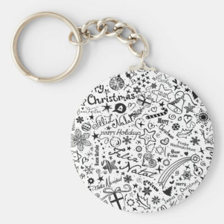 Merry Christmas Multiple Languages Keychains