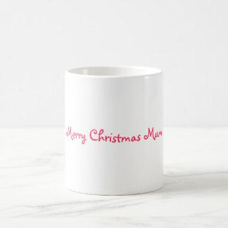 Merry Christmas Mum Basic White Mug