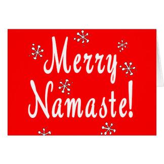 Merry Christmas Namaste Cards