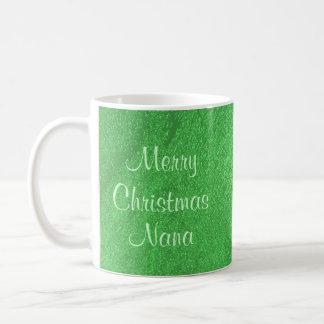 Merry Christmas Nana I Love You Basic White Mug
