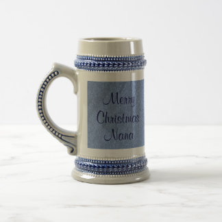 Merry Christmas Nana I Love You Beer Steins
