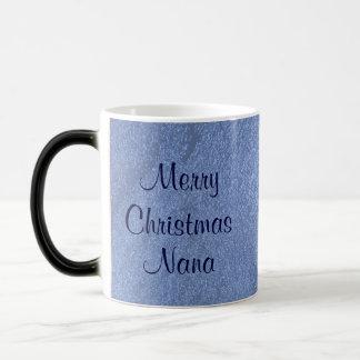 Merry Christmas Nana I Love You Morphing Mug