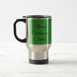 Merry Christmas Nana I Love You Coffee Mugs