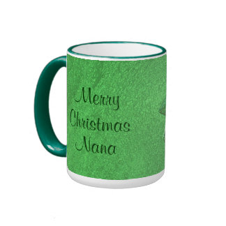 Merry Christmas Nana I Love You Ringer Mug