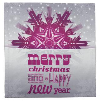 Merry christmas napkin