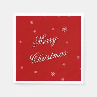Merry Christmas Napkins Disposable Napkin