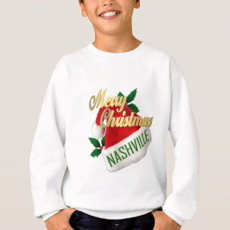 Merry Christmas Nashville Kid's Sweatshirt