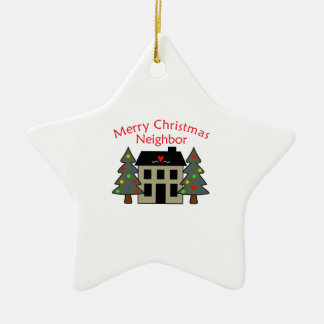 MERRY CHRISTMAS NEIGHBOR CHRISTMAS ORNAMENT