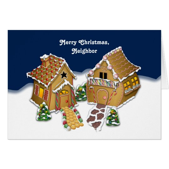 Merry Christmas Neighbour Card