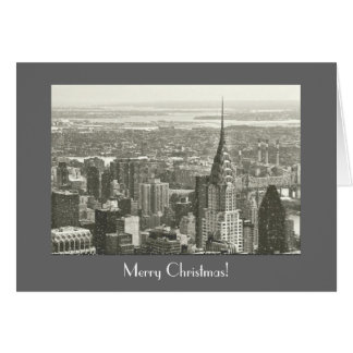 Merry Christmas - New York City Card
