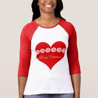 merry christmas nordic heart T-Shirt
