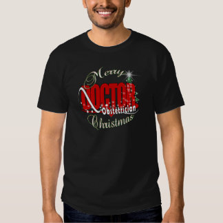 Merry CHRISTMAS Obstetrician Tshirts