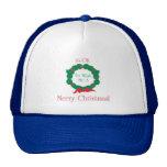 Merry Christmas OK Mesh Hat