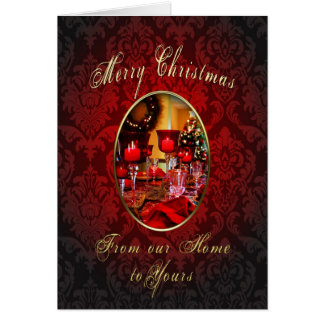 Merry Christmas - Our Home to Yours Greeting Card