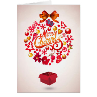 Merry Christmas Package Card