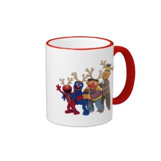 Merry Christmas Pals Ringer Mug