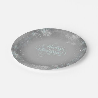 Merry Christmas Paper Plate - Option1