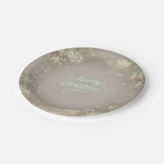 Merry Christmas Paper Plate - Option2