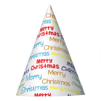 Merry Christmas Party Hat