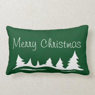 Merry Christmas Peace On Earth Holiday Pillow
