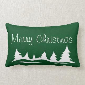 Merry Christmas Peace On Earth Holiday Pillow Throw Cushion