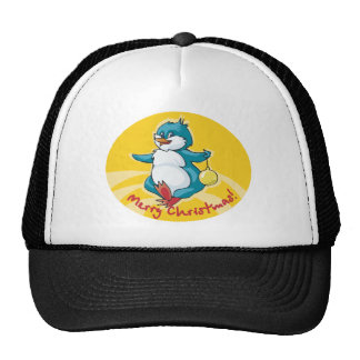 Merry Christmas Penguin Hats